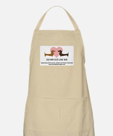 Love Box Logo, website and mission statement Apron
