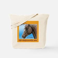 horse burger Tote Bag