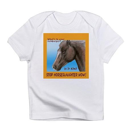 horse burger Infant T-Shirt