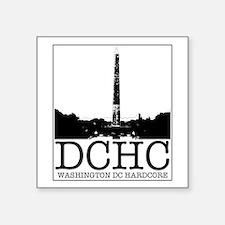WASHINGTON DC HARDCORE Sticker