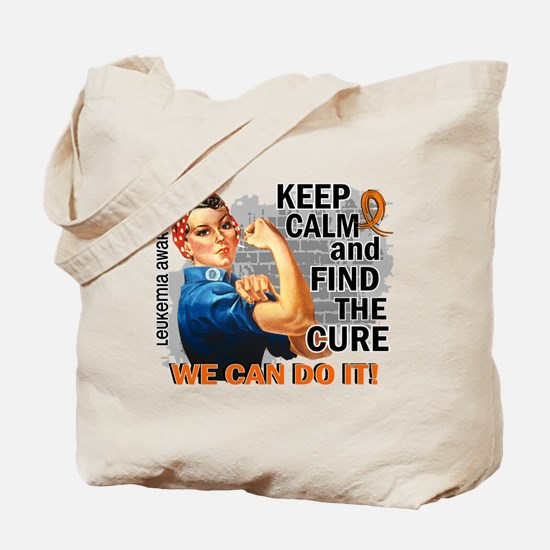 Rosie Keep Calm Leukemia Tote Bag