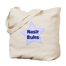 Nasir Rules Tote Bag