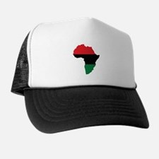 Red, Black and Green Africa Flag Hat