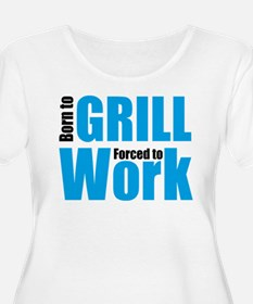 grill Plus Size T-Shirt
