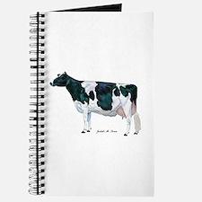 Black and White Holstein Journal