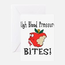 High Blood Pressure Bites Greeting Card