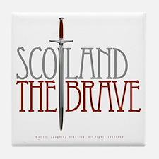 The Brave Tile Coaster