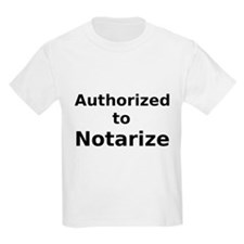 Authorized to Notarize T-Shirt