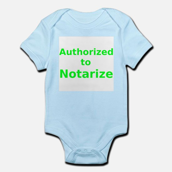 Authorized to Notarize Body Suit
