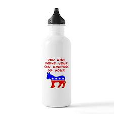 Shove Your Gun Control Water Bottle