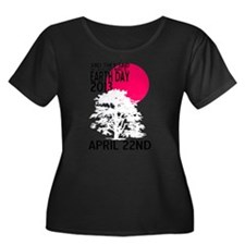 EARTH DAY 2013 Plus Size T-Shirt