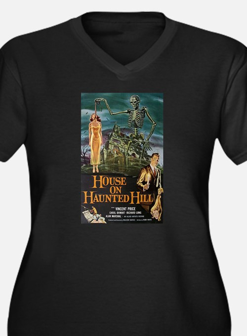 House on Haunted Hill. Plus Size T-Shirt