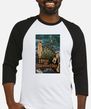 House on Haunted Hill. Baseball Jersey