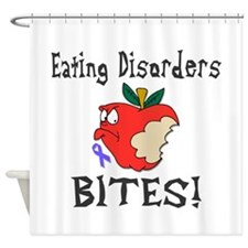Eating Disorders Bites Shower Curtain