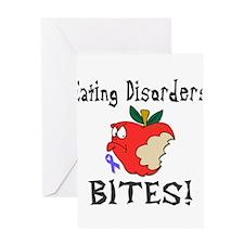 Eating Disorders Bites Greeting Card