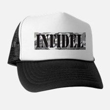 INFIDEL Urban Camo Trucker Hat