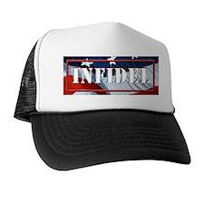 INFIDEL Flag Vertical Trucker Hat