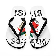 Diabetes Bites Flip Flops