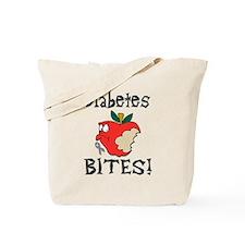 Diabetes Bites Tote Bag