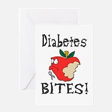 Diabetes Bites Greeting Card