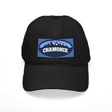 Chamonix Blue Baseball Hat
