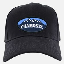 Chamonix Blue Baseball Hat