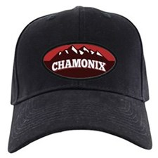 Chamonix Red Baseball Hat