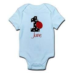 1 Ladybug JUNE - Custom Body Suit