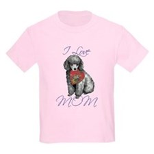 Miniature Poodle Mom T-Shirt