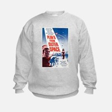 Plan 9 From Outer Space Poster Sweatshirt