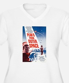 Plan 9 From Outer Space Poster Plus Size T-Shirt