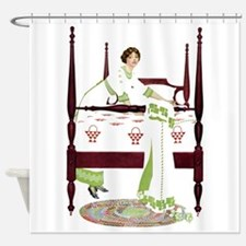 Home Sweet Home By Coles Phillips Shower Curtain