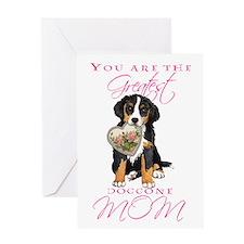 Berner Mom Greeting Card
