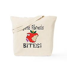 Cystic Fibrosis Bites Tote Bag