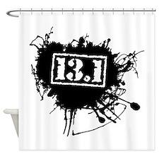 Half Marathon Shower Curtain