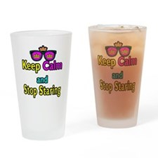 Crown Sunglasses Keep Calm And Stop Staring Drinki