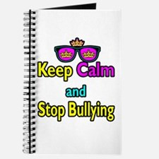 Crown Sunglasses Keep Calm And Stop Bullying Journ
