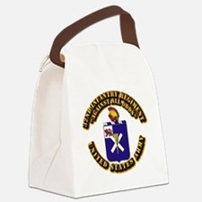 COA - 32nd Infantry Regiment Canvas Lunch Bag