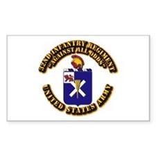 COA - 32nd Infantry Regiment Decal