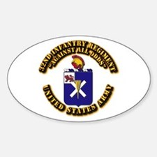 COA - 32nd Infantry Regiment Decal