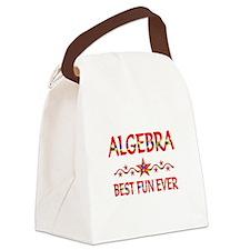 Algebra Best Fun Canvas Lunch Bag