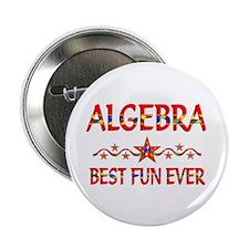 """Algebra Best Fun 2.25"""" Button"""