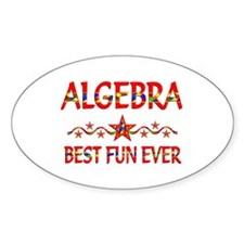 Algebra Best Fun Decal