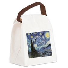 Starry Night Vincent Van Gogh Canvas Lunch Bag