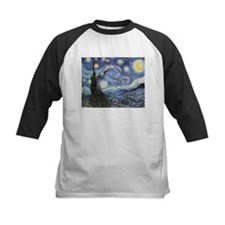 Starry Night Vincent Van Gogh Baseball Jersey