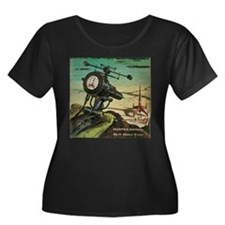 Hunter Patrol Cover Plus Size T-Shirt