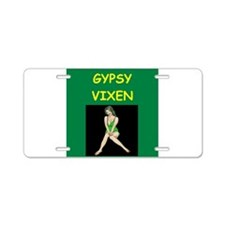 GYPSY Aluminum License Plate