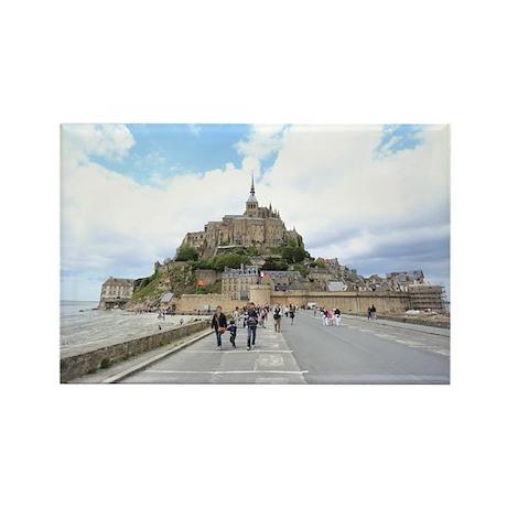 Mont St. Michel, Normandie France Rectangle Magnet