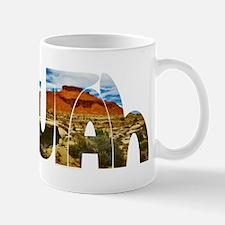 Utah desert logo Small Small Mug