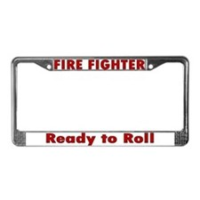 """""""Ready to Roll"""" License Plate Frame"""